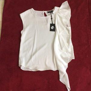 DKNY blouse . NWT . Sz M
